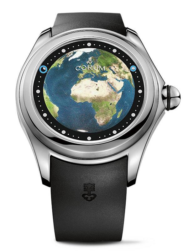 昆仑泡泡系列BIG MAGICAL欧洲地图图案男表L390/03257