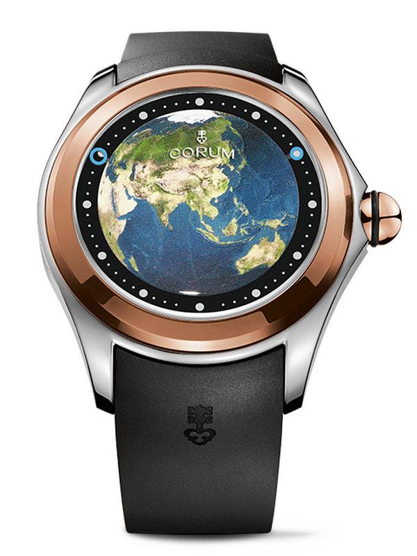 昆仑泡泡系列BIG MAGICAL亚洲地图图案男表L390/03316