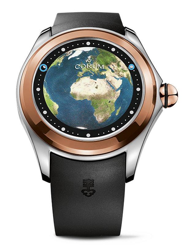 昆仑泡泡系列BIG MAGICAL欧洲地图图案男表L390/03319