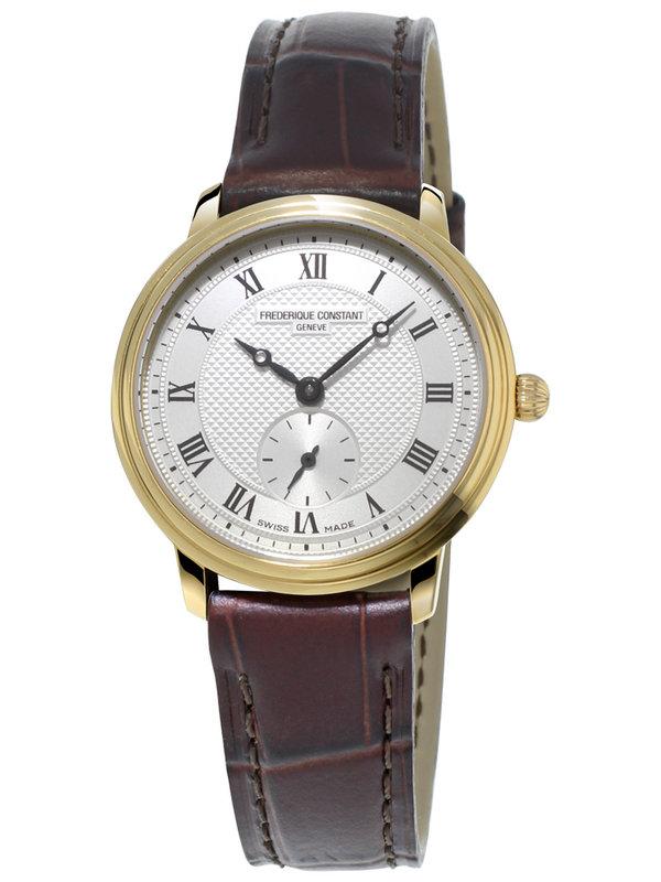 康斯登百年经典系列FC-235M1S5超薄中型女装腕表