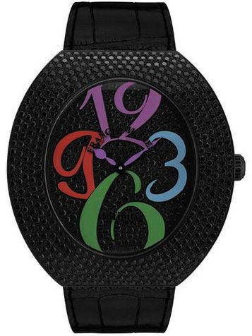 法兰克·穆勒INFINITY系列3650 QZ A NR D CD黑色刻度