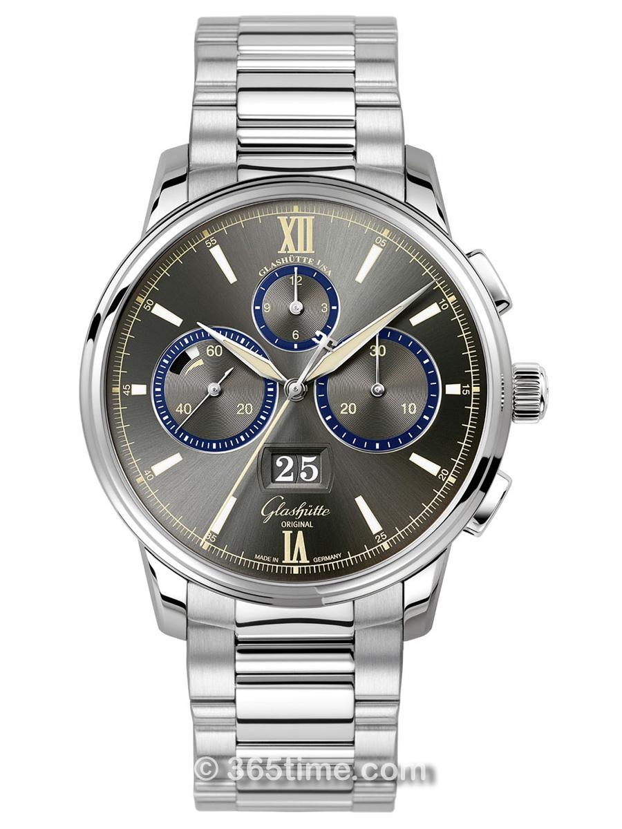 格拉苏蒂原创Senator 参议员系列大日历计时腕表大都会限量款1_37_01_04_02_70