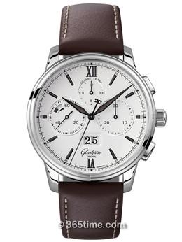 格拉苏蒂原创Senator 参议员系列大日历计时腕表1-37-01-05-02-07