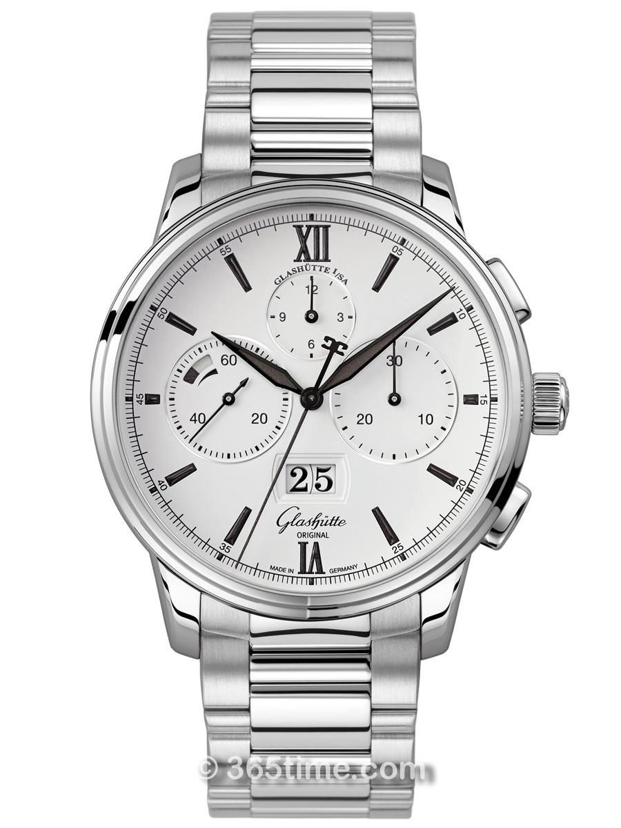 格拉苏蒂原创Senator 参议员系列大日历计时腕表1-37-01-05-02-70