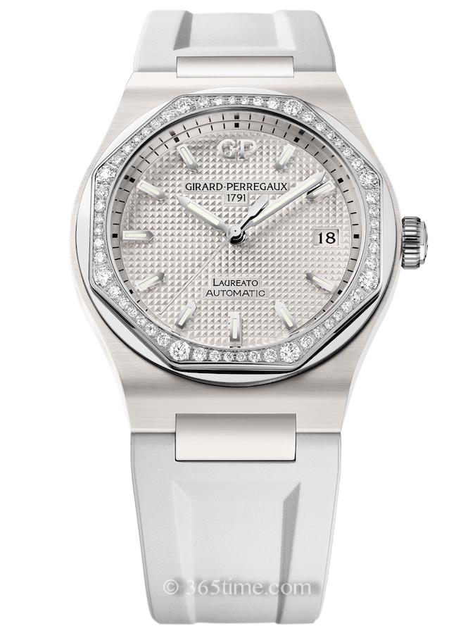 芝柏Laureato桂冠系列白色陶瓷腕表81005D82A732-FK7A