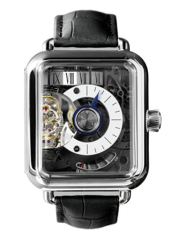 亨利慕时VENTURER冒险者系列SWISS ALP WATCH MINUTE RETROGRADE腕表5900-0200