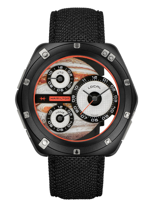 汉米尔顿美国经典系列H51598990 ODC X-03三时区腕表