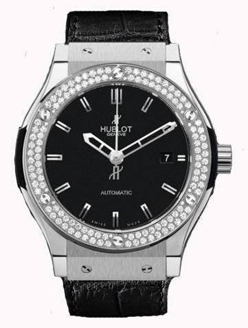 宇舶经典融合系列Classic Fusion Titanium Diamonds腕表511.NX.1170.LR.1104