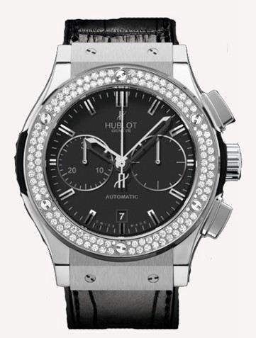 宇舶经典融合系列Classic Fusion Titanium Diamonds腕表521.NX.1170.LR.1104