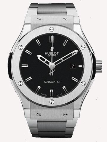 宇舶经典融合系列Classic Fusion Titanium Bracelet腕表542.NX.1170.NX