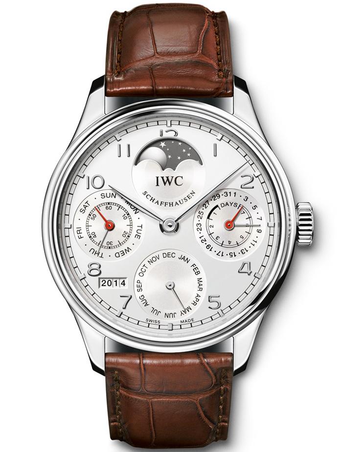 万国葡萄牙系列万年历腕表IW502308