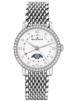 宝珀Villeret系列全历月相腕表6106-4628-MMB