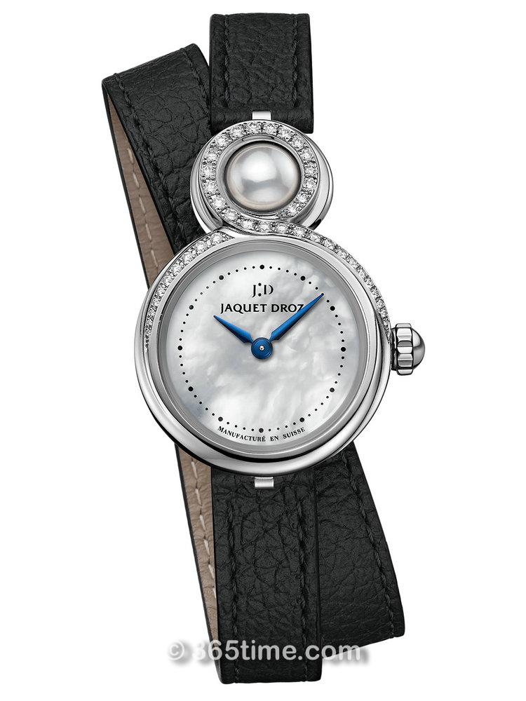 雅克德罗Elegance Paris系列优雅8小码珍珠母贝腕表 J014600370