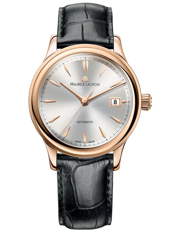 艾美典雅系列玫瑰金日历腕表LC6037-PG101-131-1