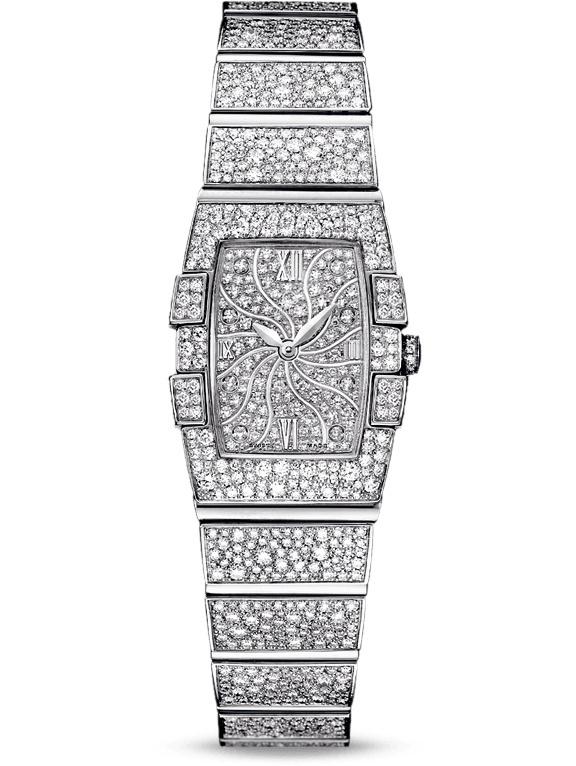 欧米茄特别系列珠宝表122.55.19.60.99.001