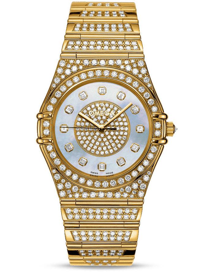 欧米茄特别系列珠宝腕表1900.21.01