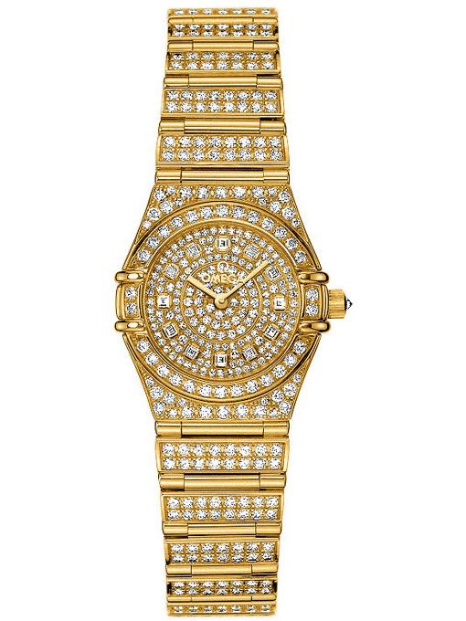 欧米茄特别系列珠宝腕表1960.31.01