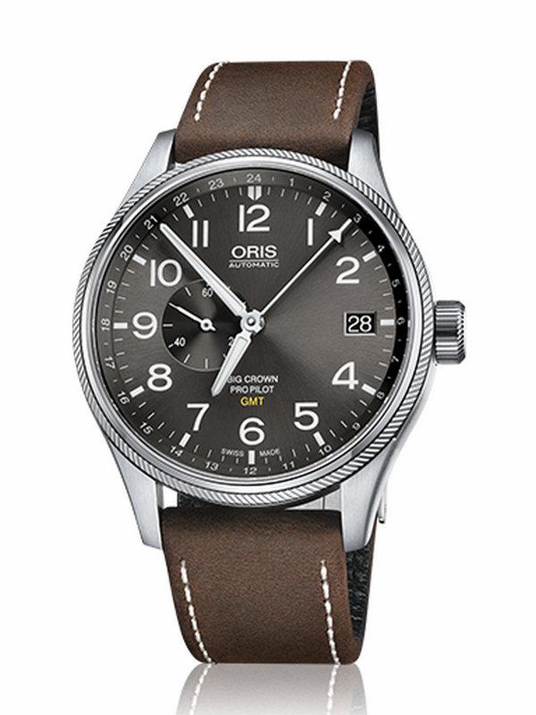 豪利时航空系列GMT小秒针腕表01 748 7710 4063-07 5 22 05FC