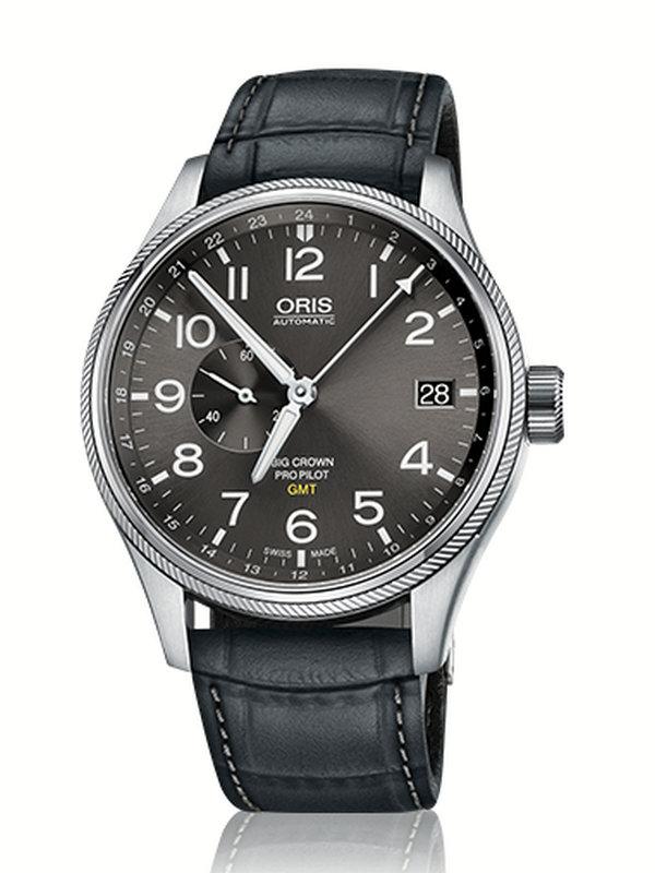 豪利时航空系列GMT小秒针腕表01 748 7710 4063-07 5 22 06FC