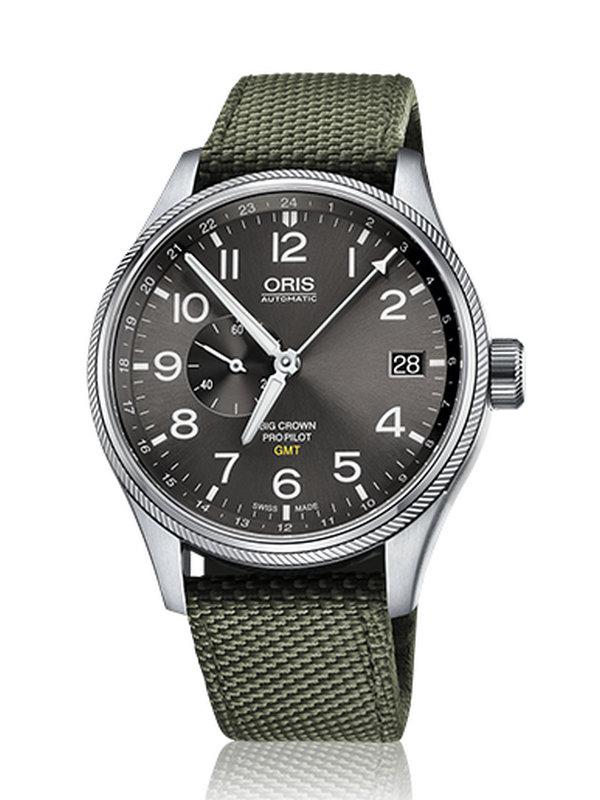 豪利时航空系列GMT小秒针腕表01 748 7710 4063-07 5 22 14FC
