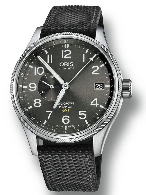 豪利时航空系列GMT小秒针腕表01 748 7710 4063-07 5 22 15FC