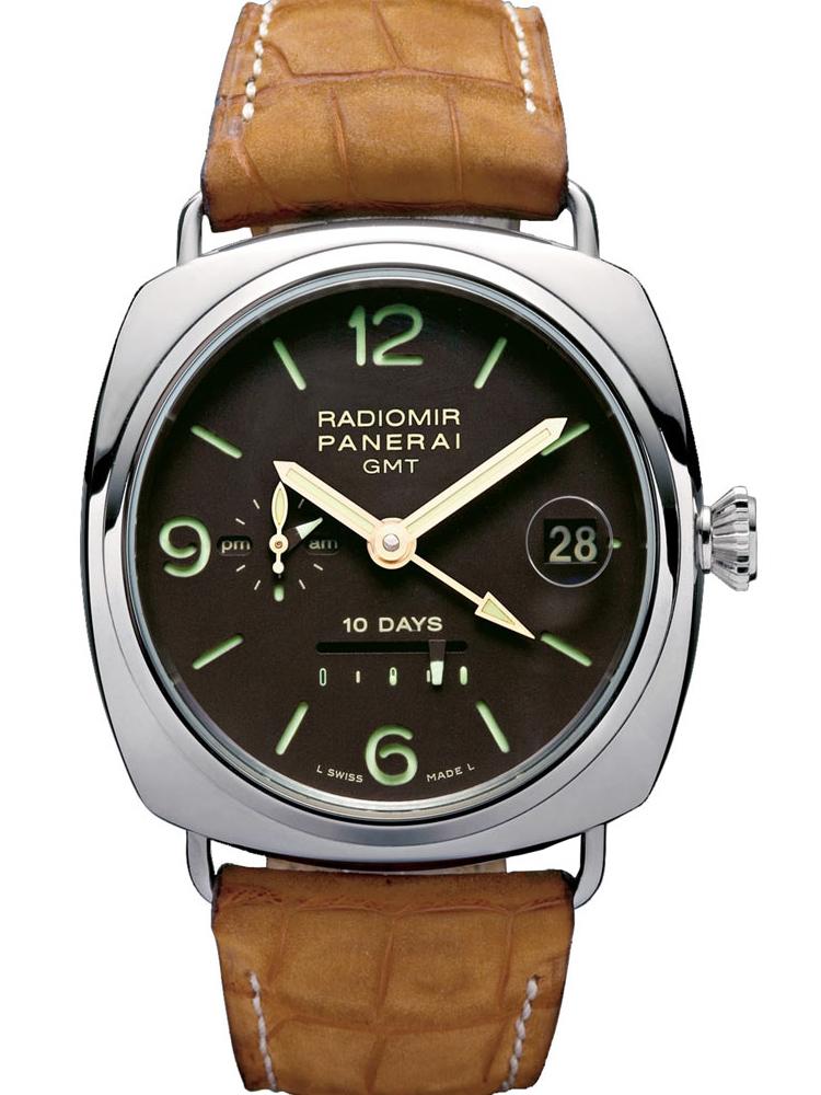 沛纳海RADIOMIR系列10天长动力GMT款PAM00274