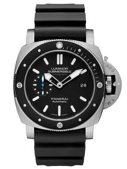 沛纳海Luminor 1950系列3日动力储存自动专业潜水防磁钛金属腕表PAM01389