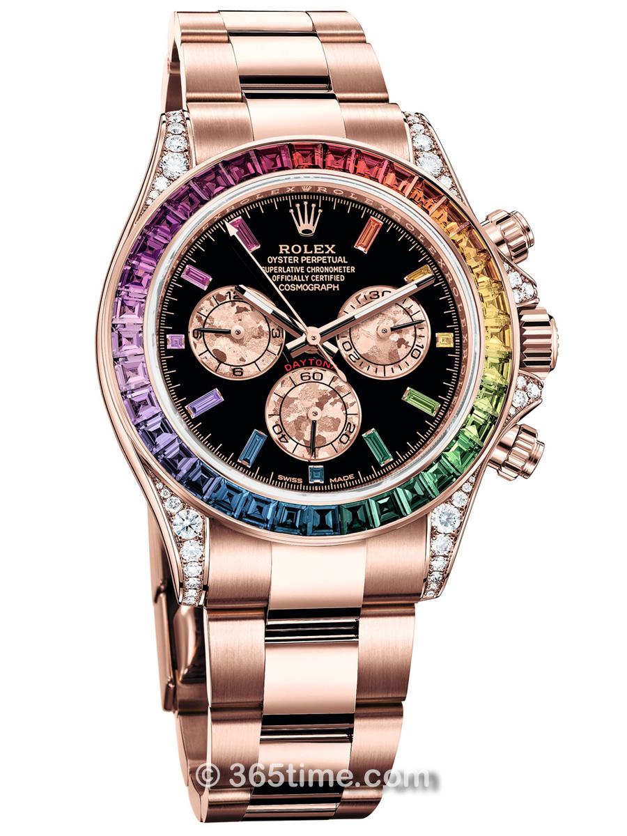劳力士宇宙计型迪通拿116595RBOW-0001计时腕表