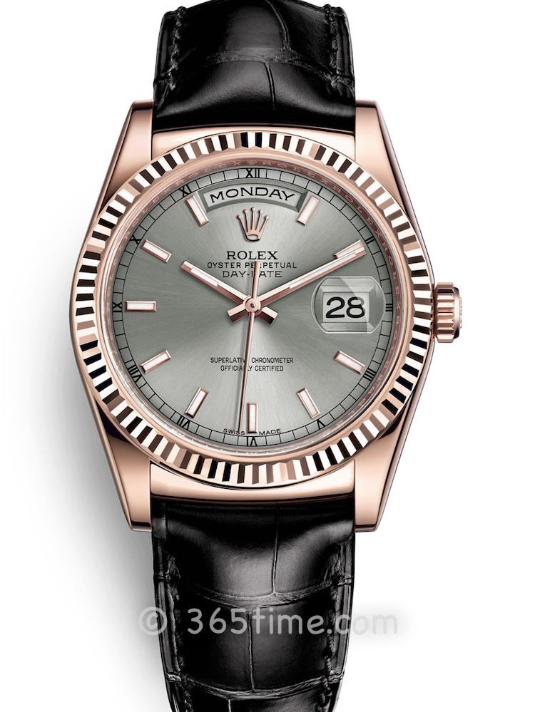 Rolex劳力士星期日历型36男士自动机械手表118135-0006
