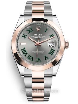 Rolex劳力士蚝式恒动日志型41男士手表126301-0015