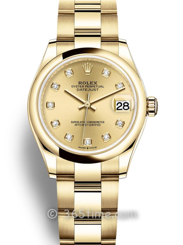 Rolex劳力士蚝式恒动日志型31女士手表278248-0013