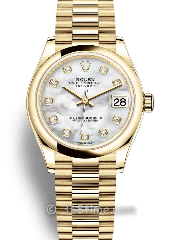 Rolex劳力士蚝式恒动日志型31女士手表278248-0016