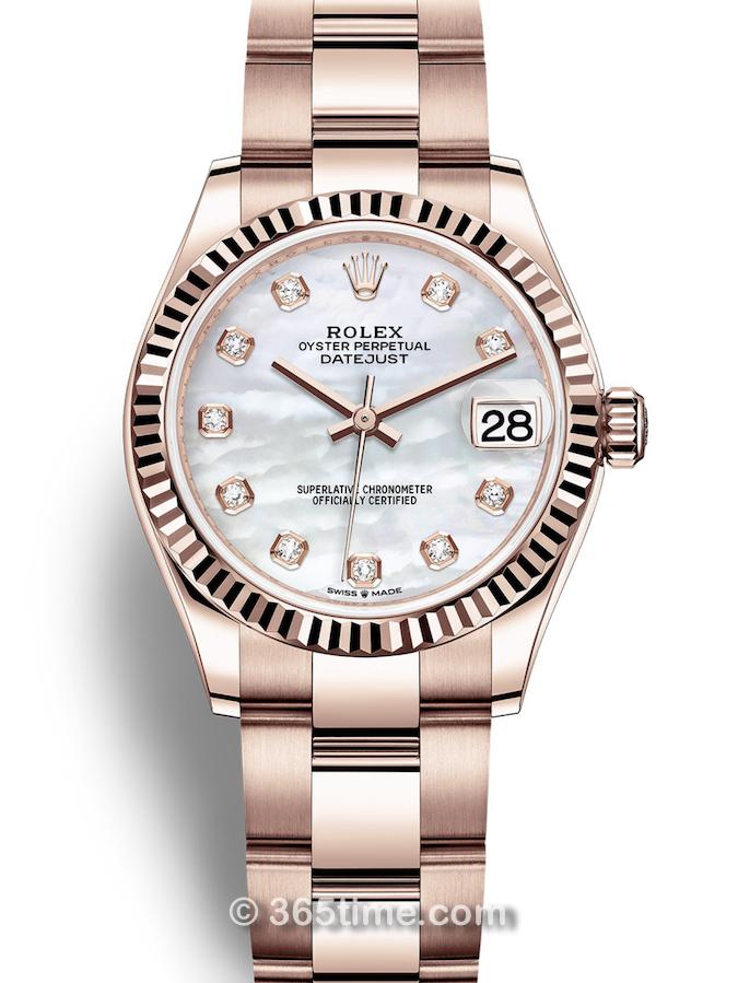 Rolex劳力士蚝式女装日志型31手表278275-0016