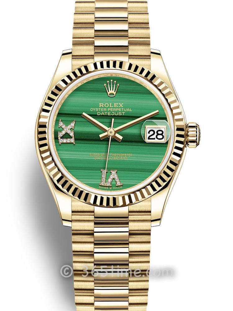 Rolex劳力士蚝式恒动日志型31女士手表278278-0004