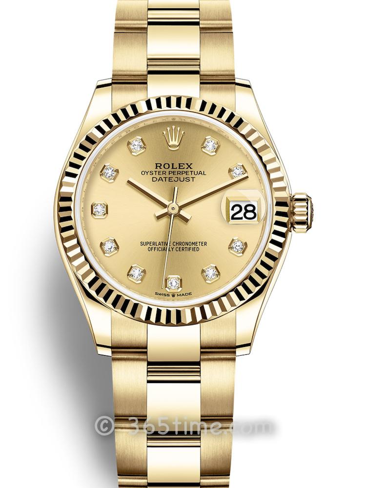Rolex劳力士蚝式恒动日志型31女士手表278278-0016