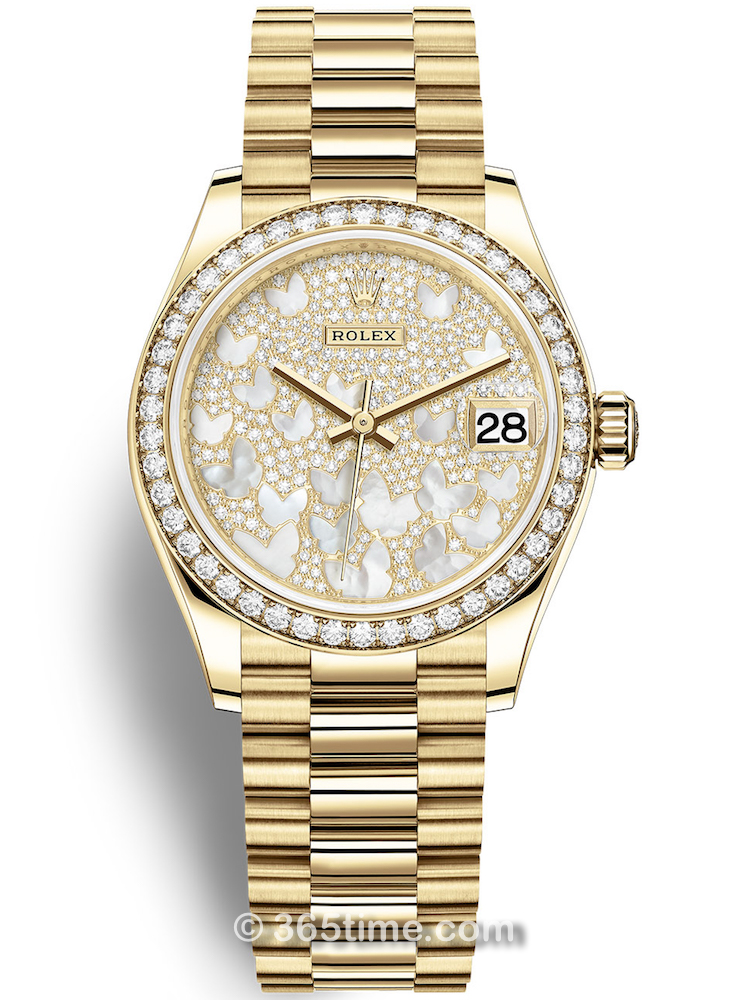 Rolex劳力士蚝式恒动34女士手表114200-0011