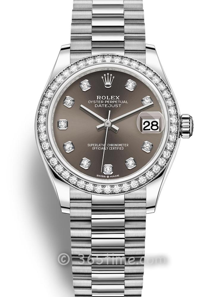 Rolex劳力士蚝式恒动日志型31女士手表278289rbr-0006