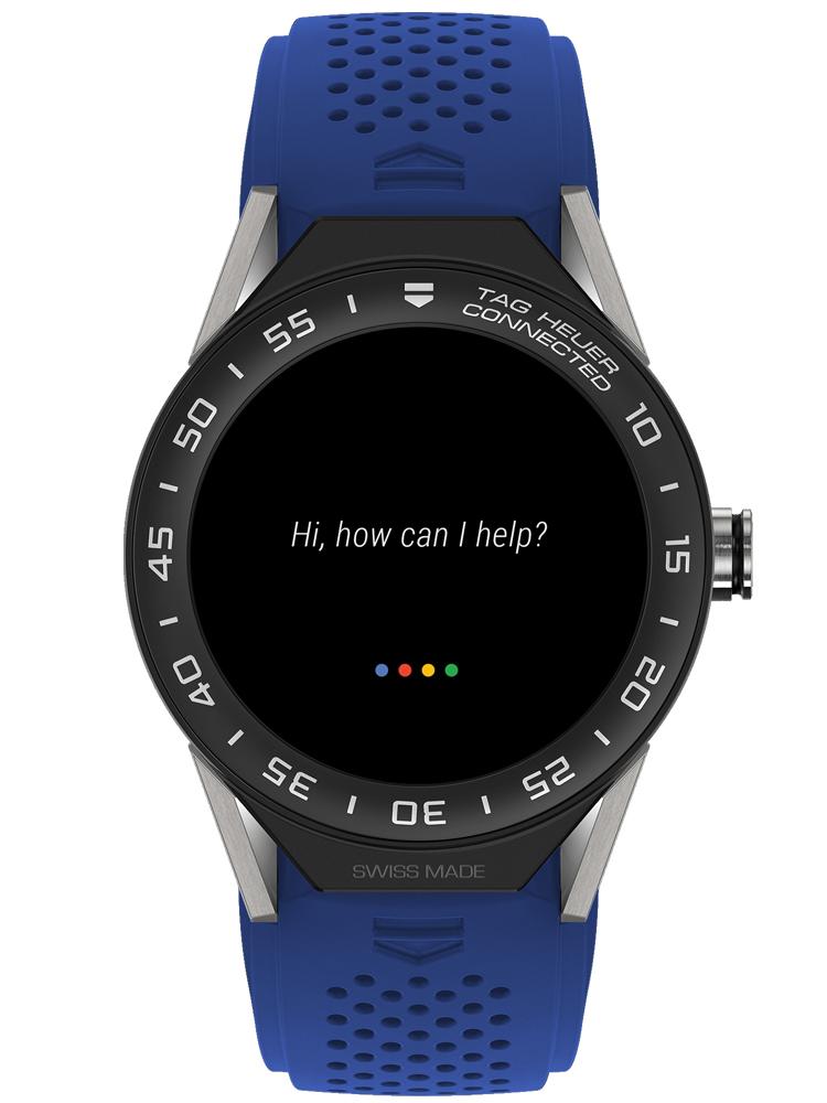 泰格豪雅TAG Heuer Connected系列智能腕表SBF8A8001.11FT6118