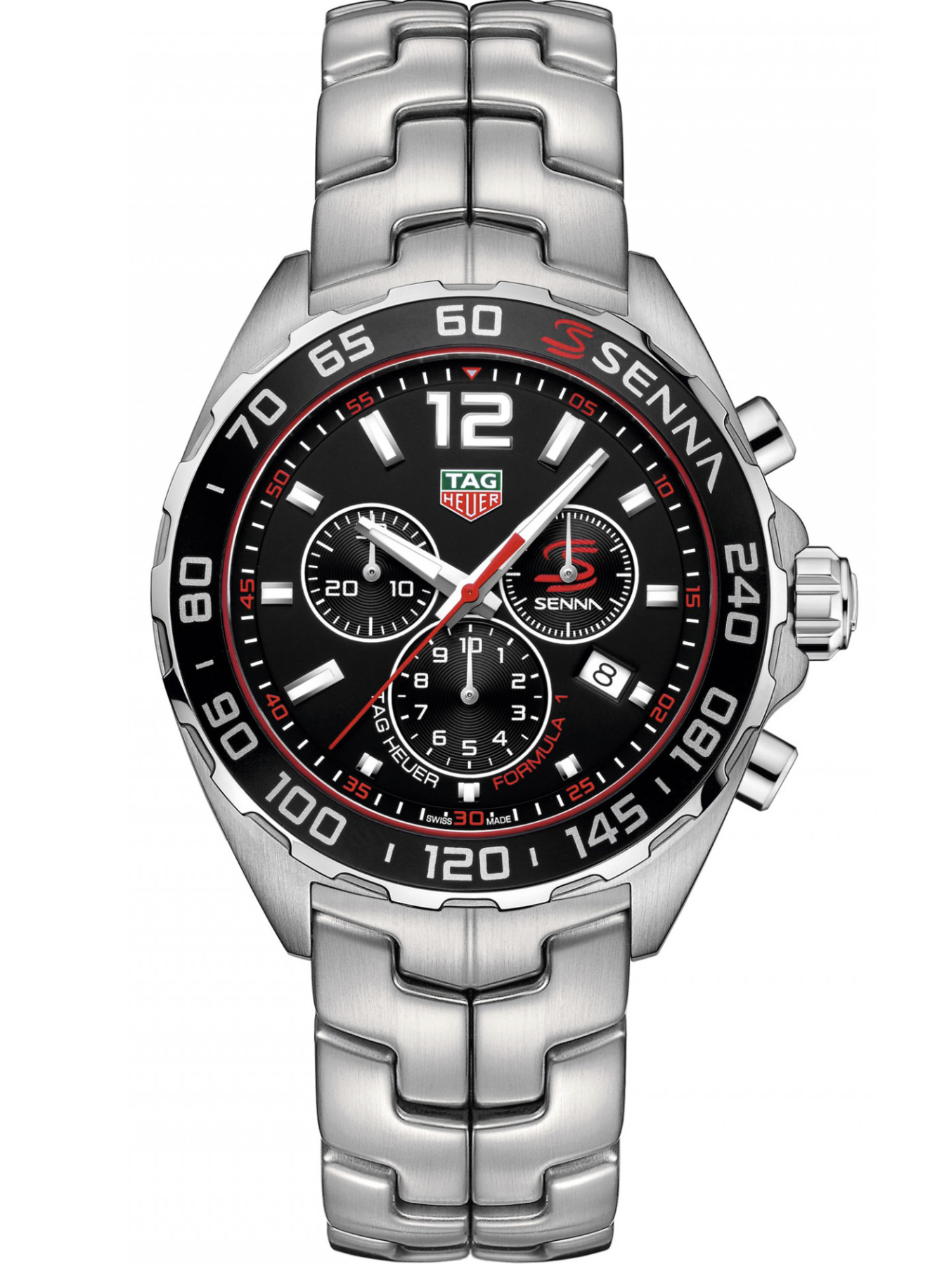 泰格豪雅F1系列计时码表塞纳特别版CAZ1015.BA0883
