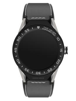 泰格豪雅泰格豪雅TAG Heuer Connected灰色橡胶表带智能腕表SBF8A8001.11FT6104