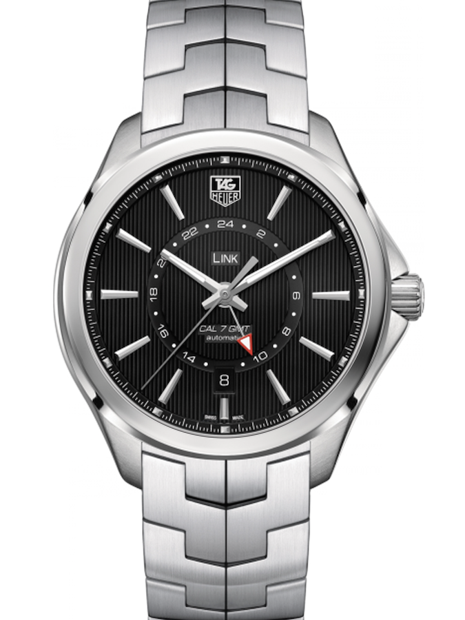 泰格豪雅林肯Link系列GMT自动腕表WAT201A.BA0951