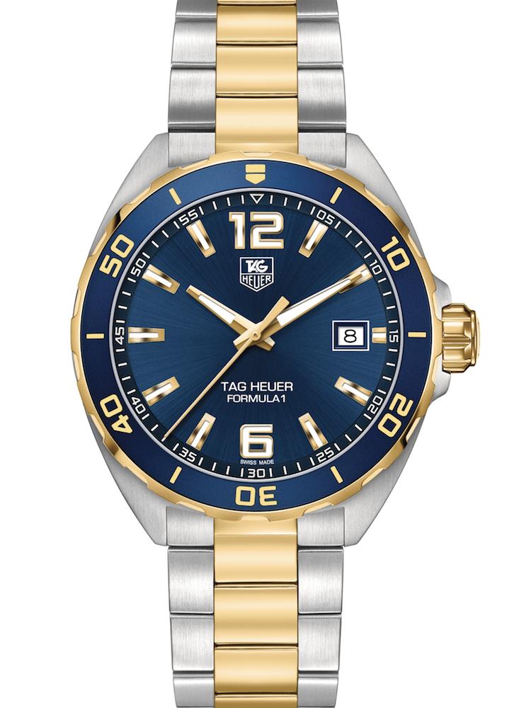 泰格豪雅F1系列精钢和镀黄金腕表WAZ1120.BB0879