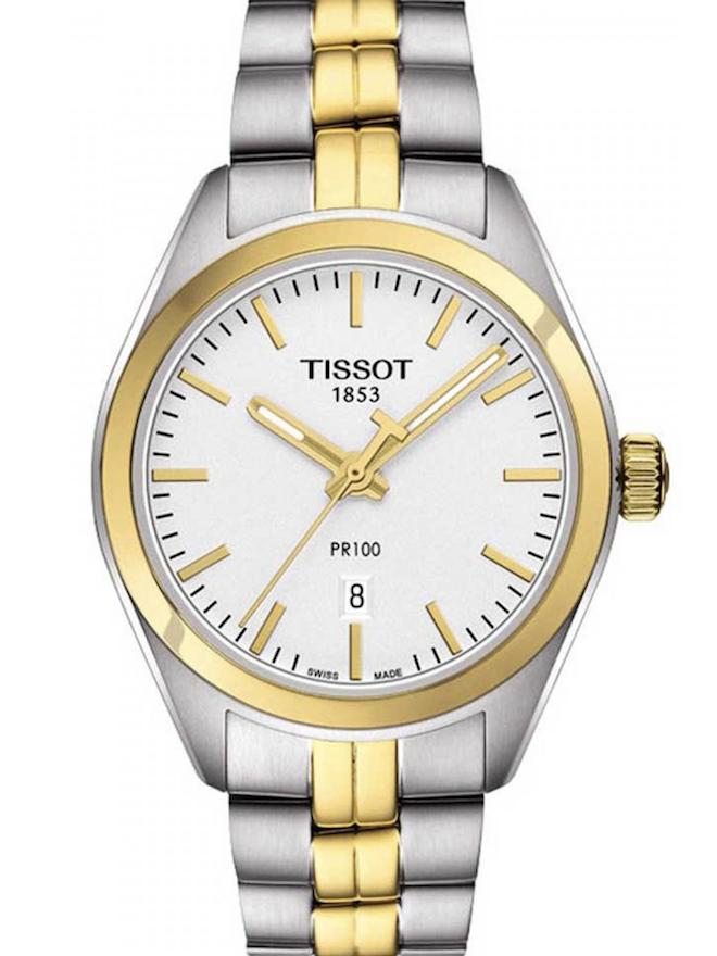 Tissot天梭PR100石英女士石英手表T101.251.22.031.00