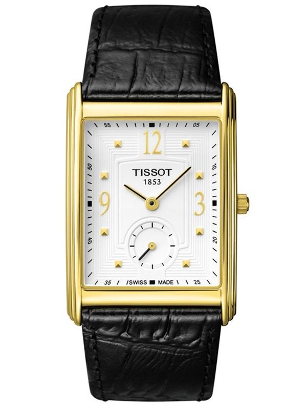 天梭T-Gold黄金河系列T71.3.610.34