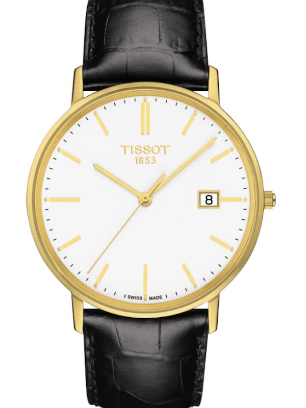 天梭T-Gold黄金河系列T922.410.06.011.00男士石英手表