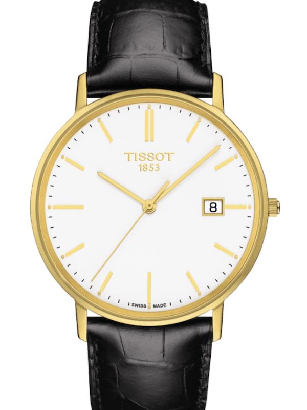 天梭T-Gold黄金河系列T922.410.16.011.00男士石英手表