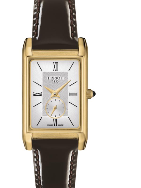 天梭Prestigious金色系列T923.335.16.038.00女士石英手表