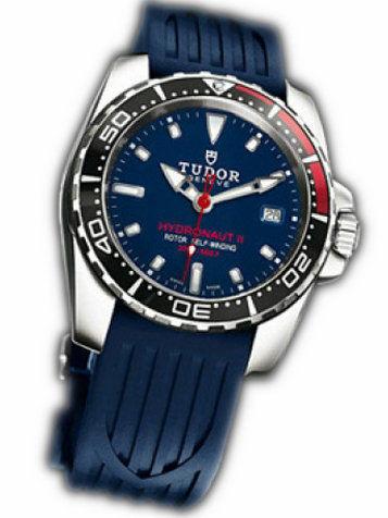 帝舵Grantour系列20060b-rs蓝色橡胶表链