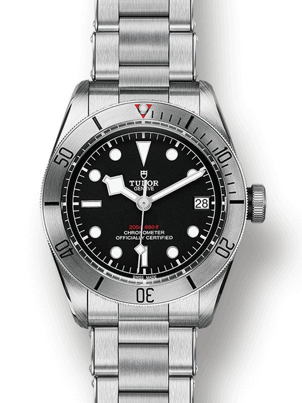 帝舵Heritage启承系列79730-0001碧湾精钢型腕表