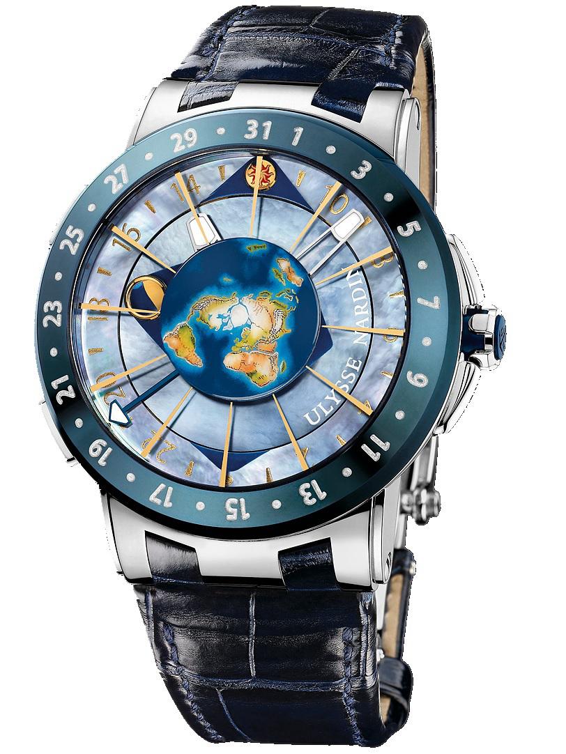 雅典珍贵独特机械腕表系列MOONSTUCK月之狂想1069-113